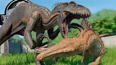 Jurassic World Malvorlagen Jogja Spinoraptor Vs Indoraptor Jurassic World Evolution