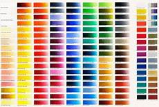 Hisandher Com Color Chart Colour Charts Old Holland Classic Colours