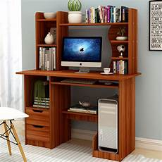 computer desk table shelf drawer office study student