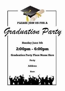 Graduation Invitation Maker Free Free Graduation Invitation Templates For Word 2018 World