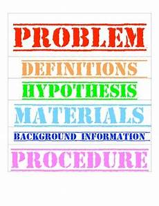 Science Fair Project Headings Science Fair Labels For Poster By Caroline Sweet Tpt