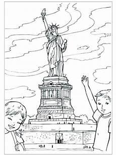 ausmalbilder new york malvorlagen kostenlos zum ausdrucken