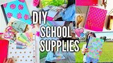 diy school supplies for back to school