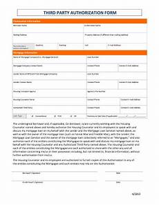 Blank 3rd Party Authorization Form Third Party Authorization Form Fill Out And Sign
