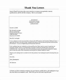 Thank You Letter After Interview Medical Assistant Sample Medical Assistant Thank You Letter 8 Examples In