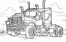 Malvorlagen Lkw Coloring Page Large Truck