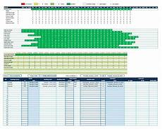 Booking Schedule Template Daily And Hourly Reservation Calendars For Any Purposes