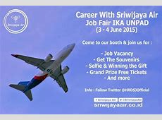 Pin di Sriwijaya Air Career