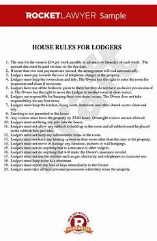 Rental House Rules Template House Rules For Renting A Room House Rules Template