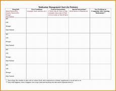 Excel Pills 7 Medication Chart Template Sampletemplatess