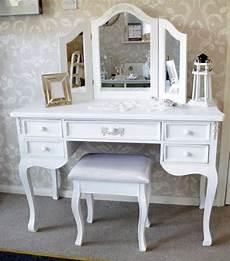 large antique white dressing table desk pays blanc range
