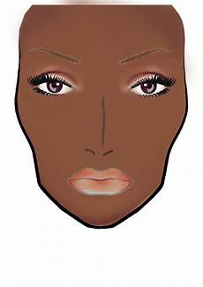 Brown Face Chart Blank Charlietredway Make Up Artistry Blank Mac Face Chart I