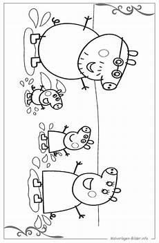 peppa wutz ausmalbild f 252 r kinder zum ausdrucken
