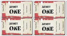 Create Event Tickets Free 6 Ticket Templates For Word To Design Your Own Free Tickets