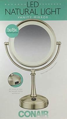 Conair Led Natural Light Vanity Mirror Conair Led Natural Light Vanity Mirror Walmart Com