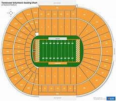 Tennessee Vols Football Seating Chart Neyland Stadium Section T Rateyourseats Com