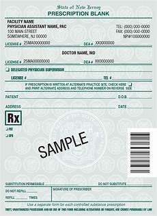 Doctor Prescription Pad New Jersey Rx Pads Nj Rx Prescription Pads Printing For