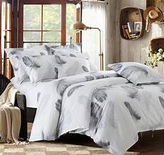 black and white bedding set feather duvet cover king