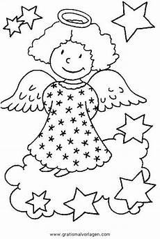 Malvorlagen Engel Engel 45 Gratis Malvorlage In Engel Weihnachten Ausmalen