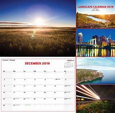 Calendar Landscape 2018 Landscape Photo Calendar Landscape Printing