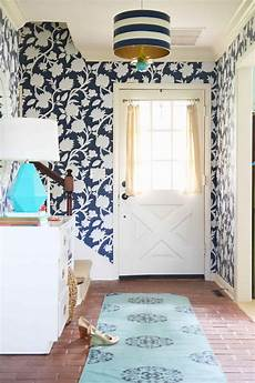 Bold Wallpaper Designs Trendy Welcoming Entryway Ideas