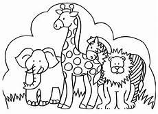 Ausmalbilder Tiere A Safari Downlaod X