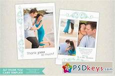 thank you card photoshop template free 5x7 thank you card template 149399 187 free