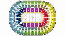 Washington Capitals Seating Chart With Rows Premium Tickets Washington Capitals