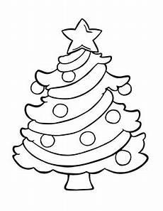 ausmalbilder weihnachten weihnachtsbaum einfach