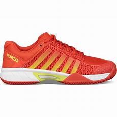 Light Tennis Shoes K Swiss Womens Express Light Tennis Shoes Fiesta White