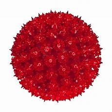 Star Sphere Lights Starlight Spheres 10 Quot Mega Starlight Sphere 150 Red Lamps
