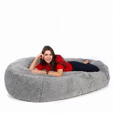 bean bag faux fur sofa bed