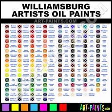 Williamsburg Color Chart Williamsburg Oil Paint Brands Williamsburg Paint Brands