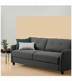 zinus contemporary upholstered 78 4in sofa zinus