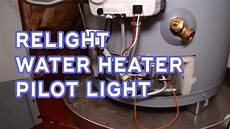 Rheem Water Heater Pilot Light Won T Light How To Relight Water Heater Pilot Light No Water