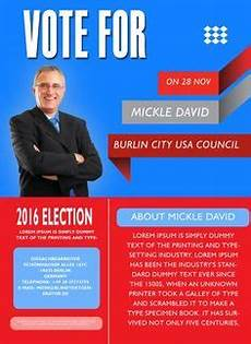 Campaign Poster Template Free Free Political Campaign Flyer Templates Demplates