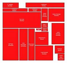 Banner Size Chart Ukuran Banner Secara Umum Spanduk Desain Jenis