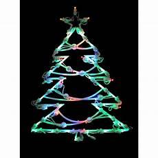 Led Christmas Window Lights Northlight 18 In Led Lighted Tree Christmas Window