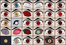 Naruto Eye Chart Naruto Eyes By Morganstedmanmsng On Newgrounds