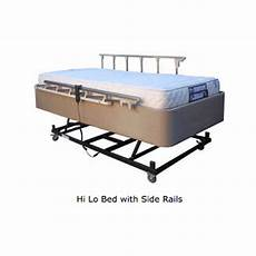bed side rail kit 2 rails ultra flex king single