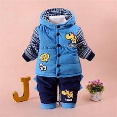2 years boy clothes 2017 autumn winter infant baby boy clothes set cotton