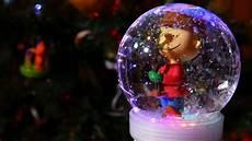 Light Up Christmas Globes Make A Light Up Amp Musical Snow Globe Youtube