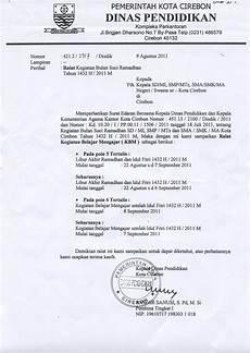 contoh surat dinas tentang kegiatan sekolah menumbuhkan