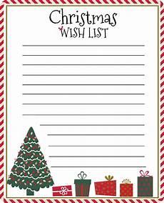 Christmas List Maker Printable Free Wish List Printable For Easy Cyber Monday Shopping