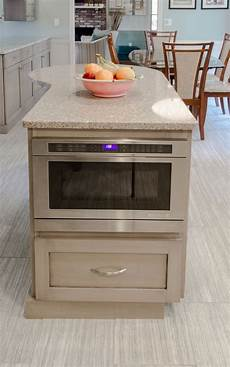 kitchen island microwave kitchen design ideas for hiding the microwave