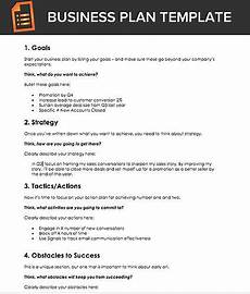 A Free Business Plan Template For Sales Reps