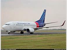 Sriwijaya Air Datangkan 10 Pesawat Boeing 737 800