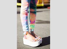 Shoes: sandals, platform shoes, straps, white, summer