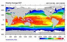 Sea Surface Temp Charts Sea Surface Temperature Facts For Kids