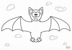 bat coloring pages at getcolorings free
